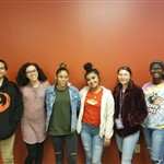 Teen Ambassadors at January 2019 Meeting