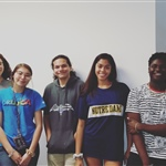 Teen Ambassadors at March 2019 Meeting