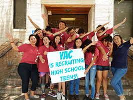 YAC is recruiting high school teens